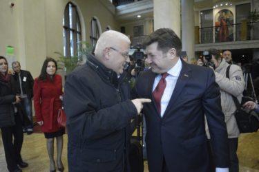 Венцислав Върбанов посрещна Йежи Плева