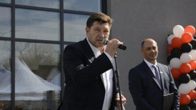 """Венцислав Върбанов поздрави """"Агритоп"""" и събралите се фермери от името на АЗПБ"""