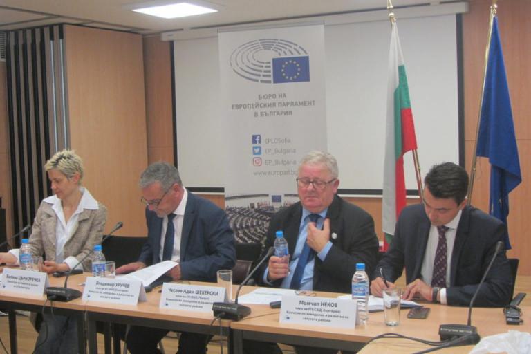 Адам Шекерски, Европейски парламент, Agrozona.bg