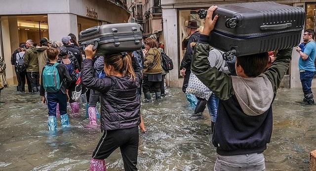 Венеция, евакуация, Agrozona.bg