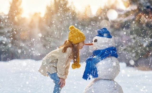 деца, зима, Agrozona.bg