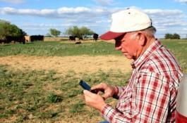 фермер смартфон