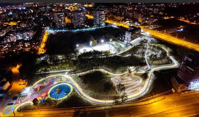 Приключи изграждането на новия градски парк във Варна