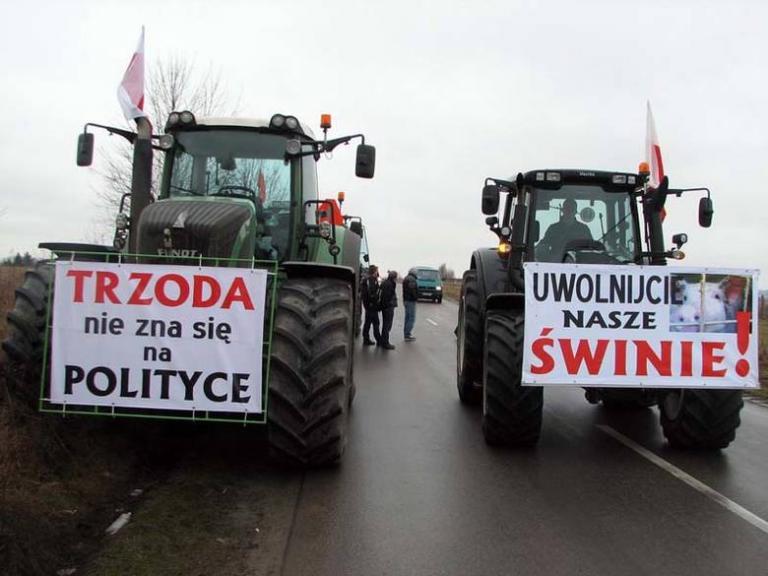 Полша, Протести, Agrozona.bg