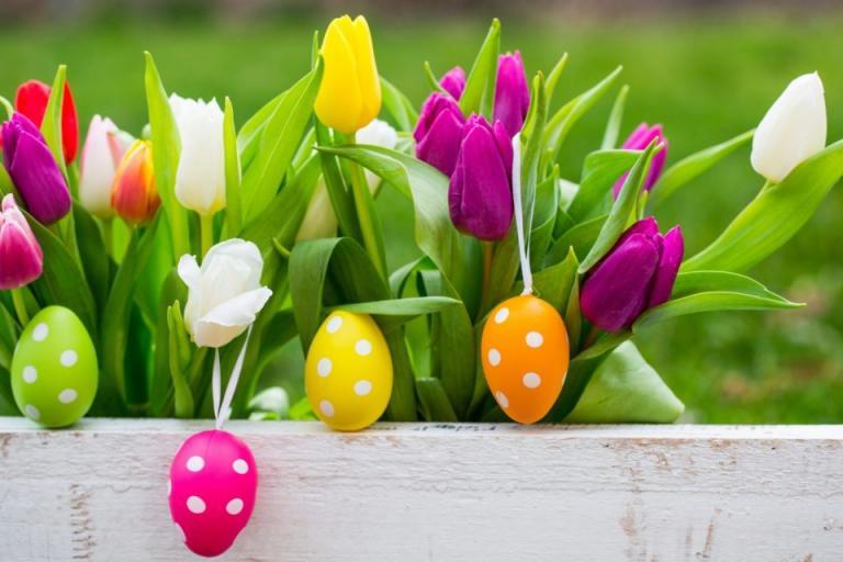 Великден, цветя, Agrozona.bg