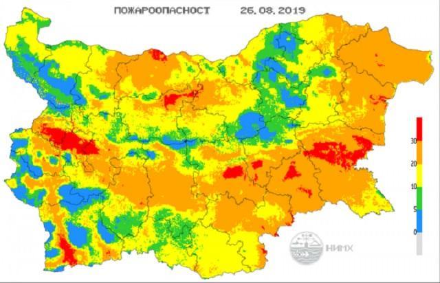 пожари, Прогноза за времето, Agrozona.bg