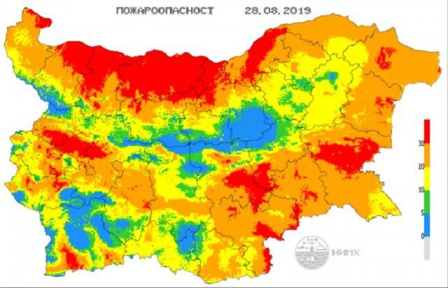 НИМХ, пожари, Agrozona.bg