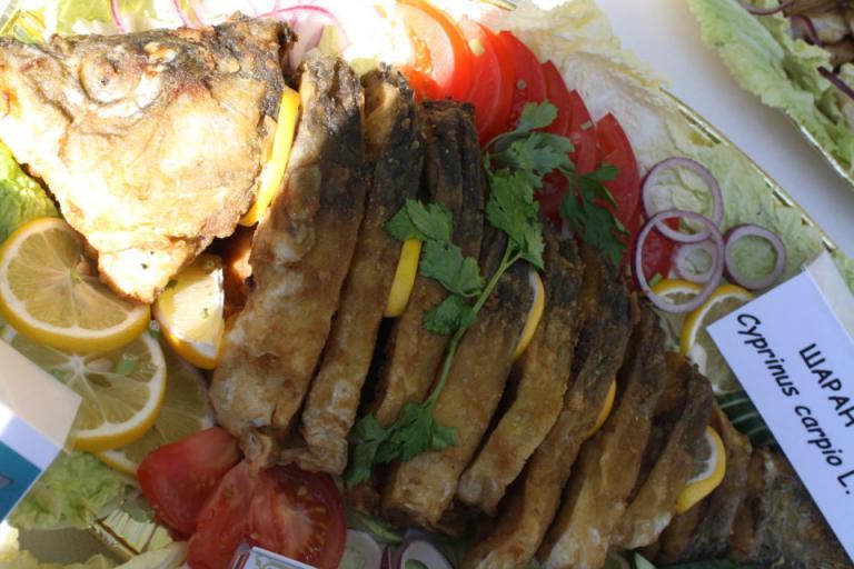 пържена риба шаран