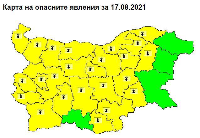 горещини, НИМХ, Agrozona.bg