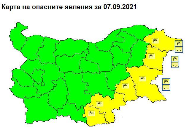 вятър, жълт код, Agrozona.bg